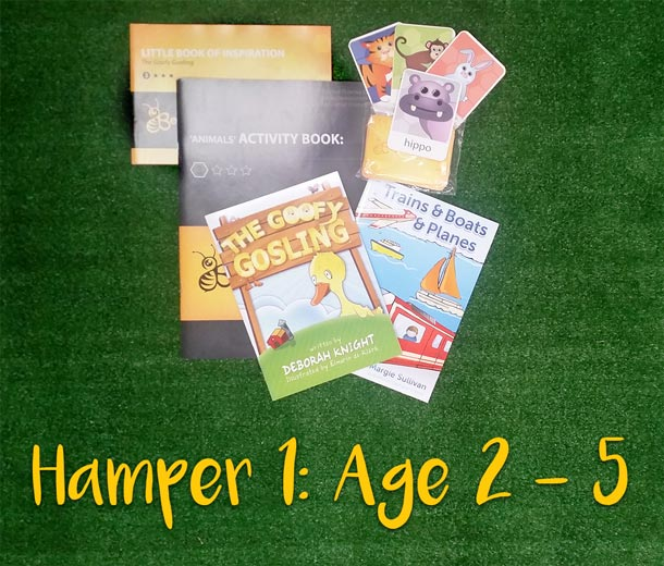 Children's Book Hampers - Age 2- 5