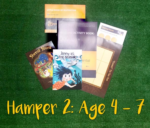 Children's Book Hampers - Age 4 -7